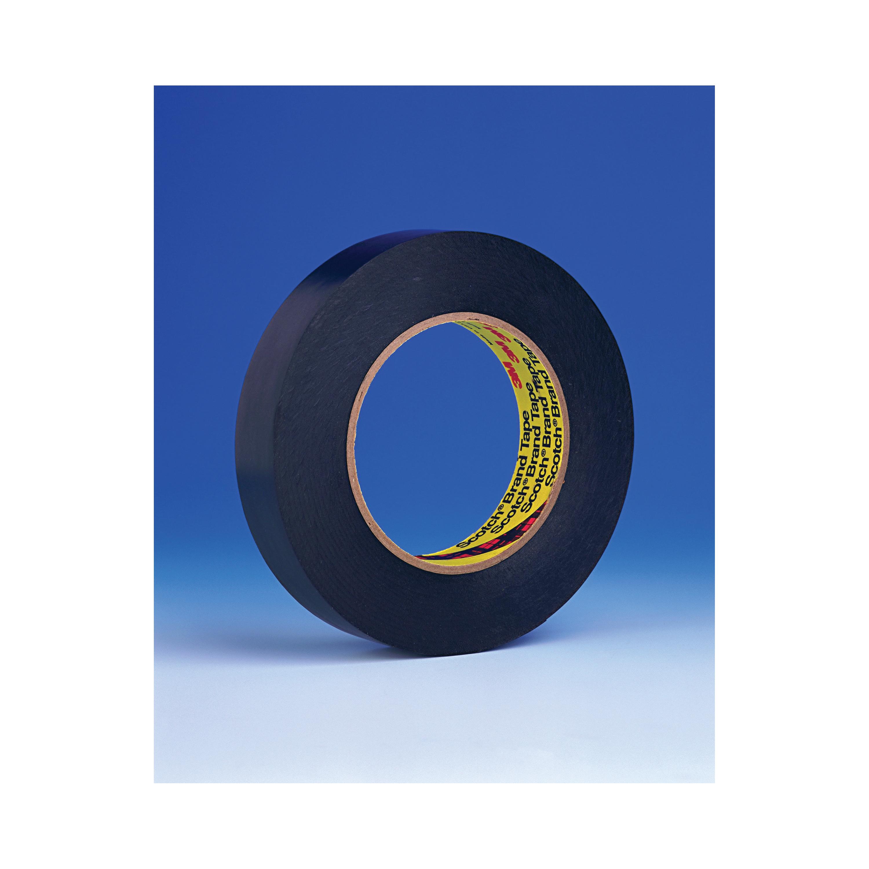 3M™ 021200-03153 472 Heavy Duty Premium Grade Marking Tape, 3 in W x 36 yd Roll L, 10.4 mil THK, Black