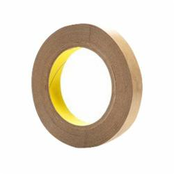 3M™ 021200-03323 Coated Tape, 36 yd L x 1 in W, 4 mil THK, Polyester Film, Acrylic Adhesive, Polycoated Kraft Liner Backing, Clear