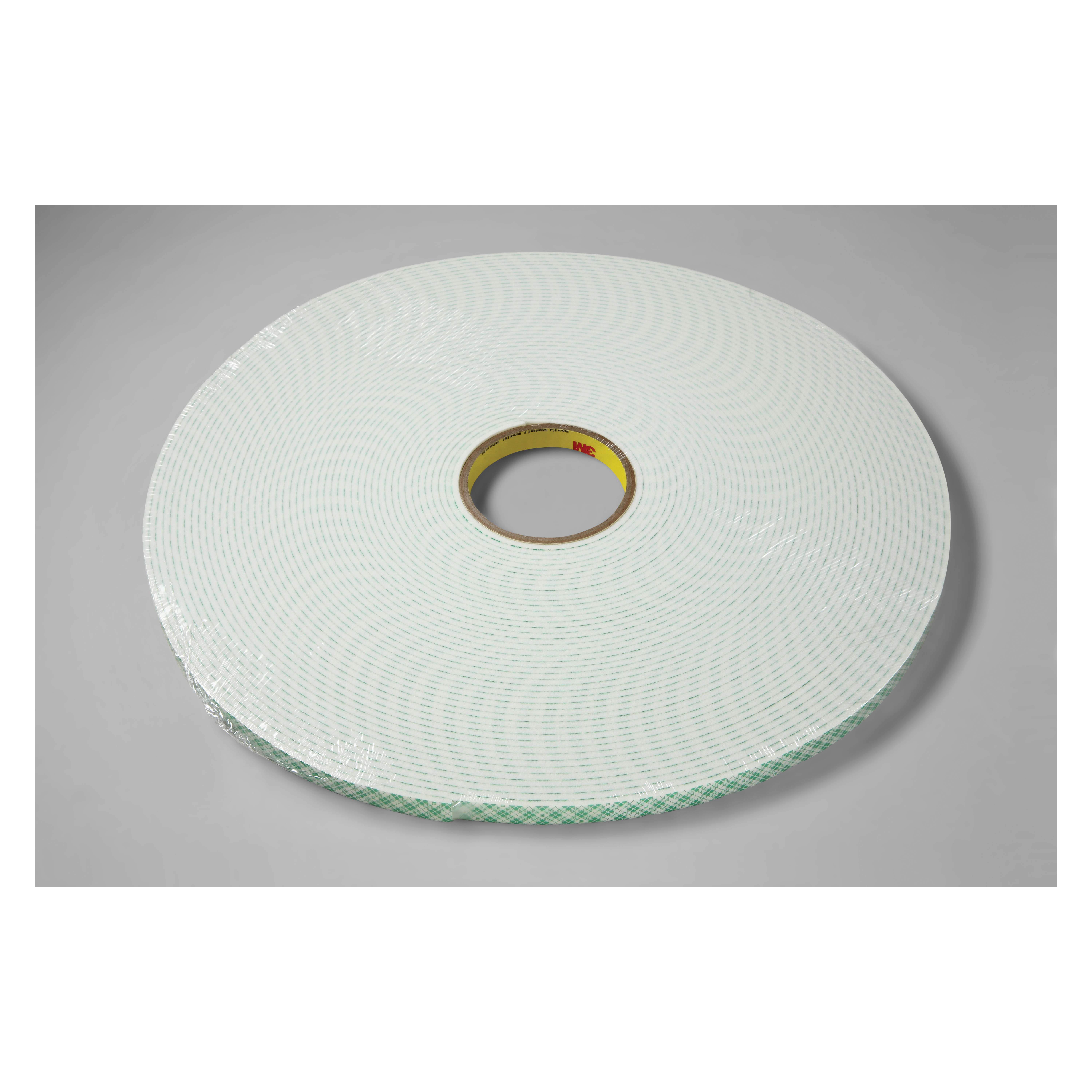3M™ 021200-03392 Double Coated Tape, 18 yd L x 1/2 in W, 250 mil THK, Acrylic Adhesive, Urethane Foam Backing, Off-White