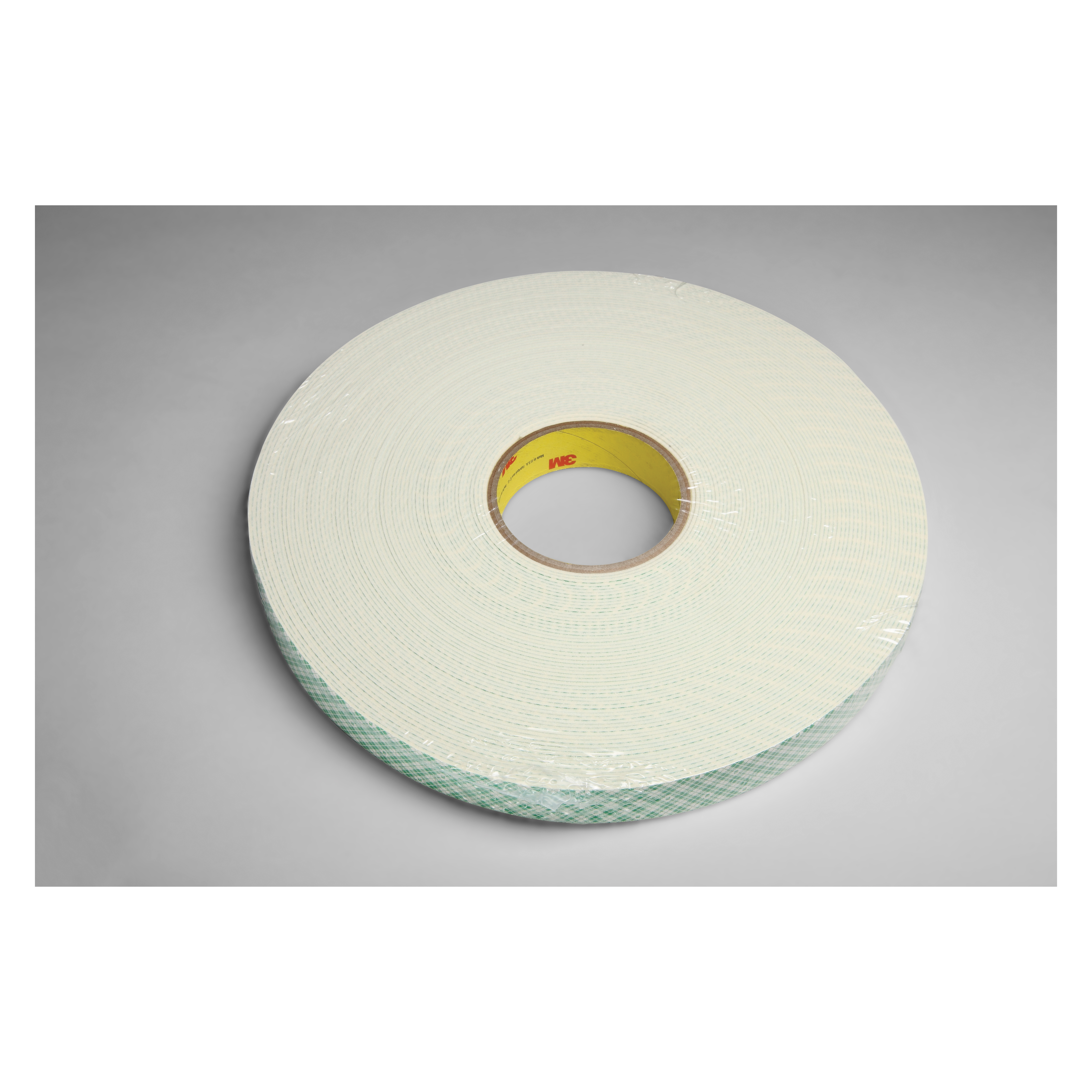 3M™ 021200-03402 Single Coated Foam Tape, 36 yd L x 1 in W, 62 mil THK, Acrylic Adhesive, Urethane Foam Backing, Natural