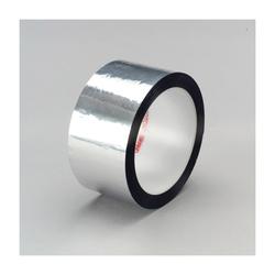 3M™ 021200-03577 850 Film Tape, 1/2 in W x 72 yd Roll L, 1.9 mil THK, Silver