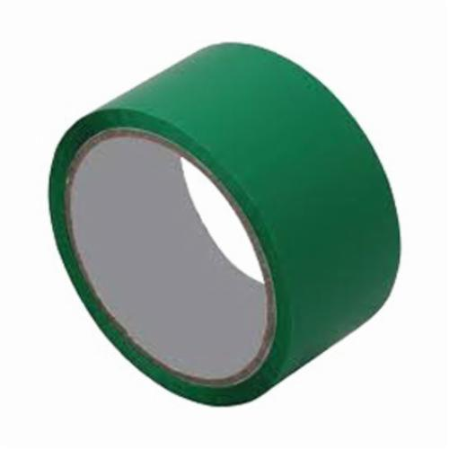 3M™ 021200-04118 Film Tape, 72 yd L x 1 in W, 4 mil THK, Rubber/Silicone Blend Adhesive, Polyester Backing, Green
