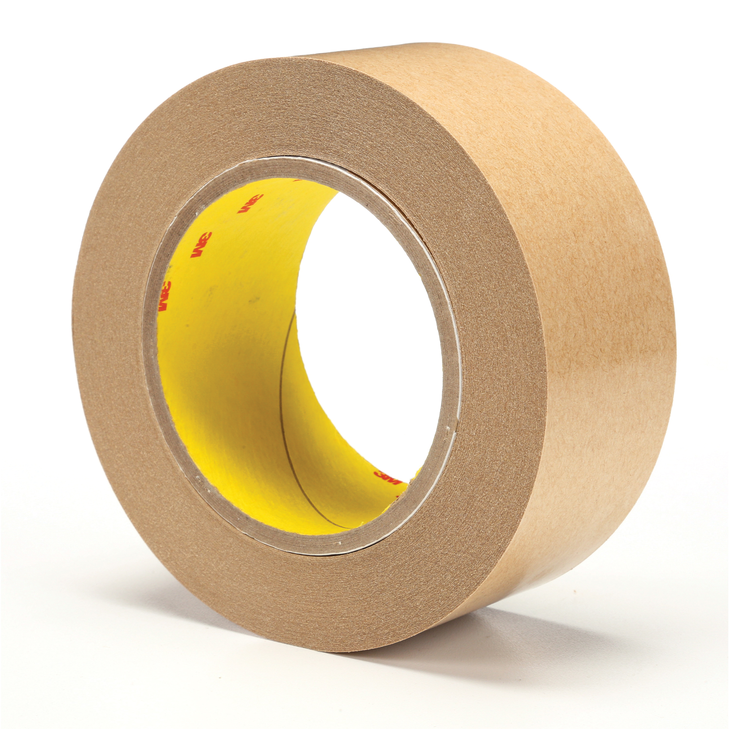 3M™ 021200-04299 465 Fibered General Purpose Adhesive Transfer Tape, 2 in W x 60 yd Roll L, 2 mil THK, Clear
