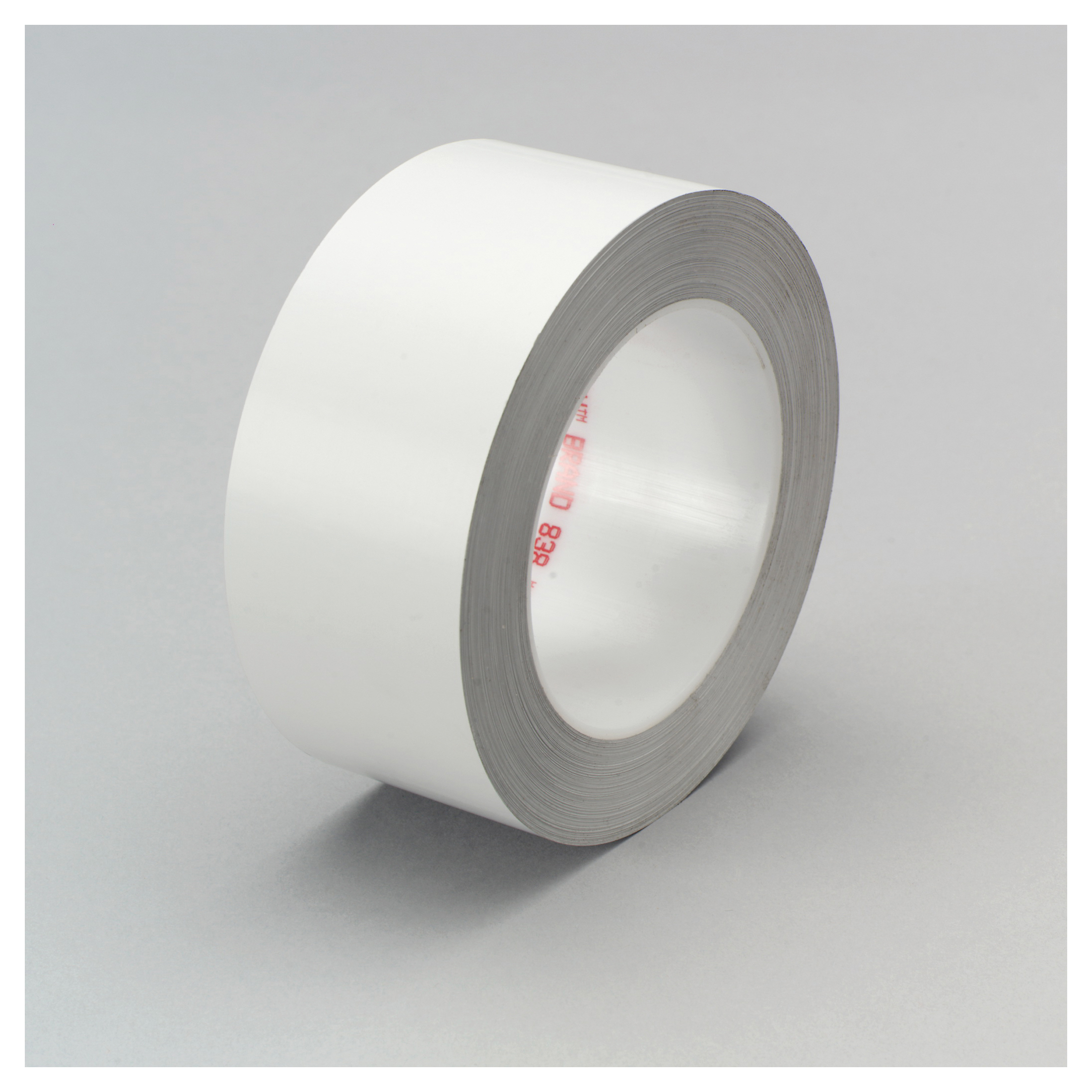 3M™ 021200-04413 Weather-Resistant Film Tape, 72 yd L x 2 in W, 3.4 mil THK, Acrylic Adhesive, 2.1 mil Tedlar® PVF Backing, White