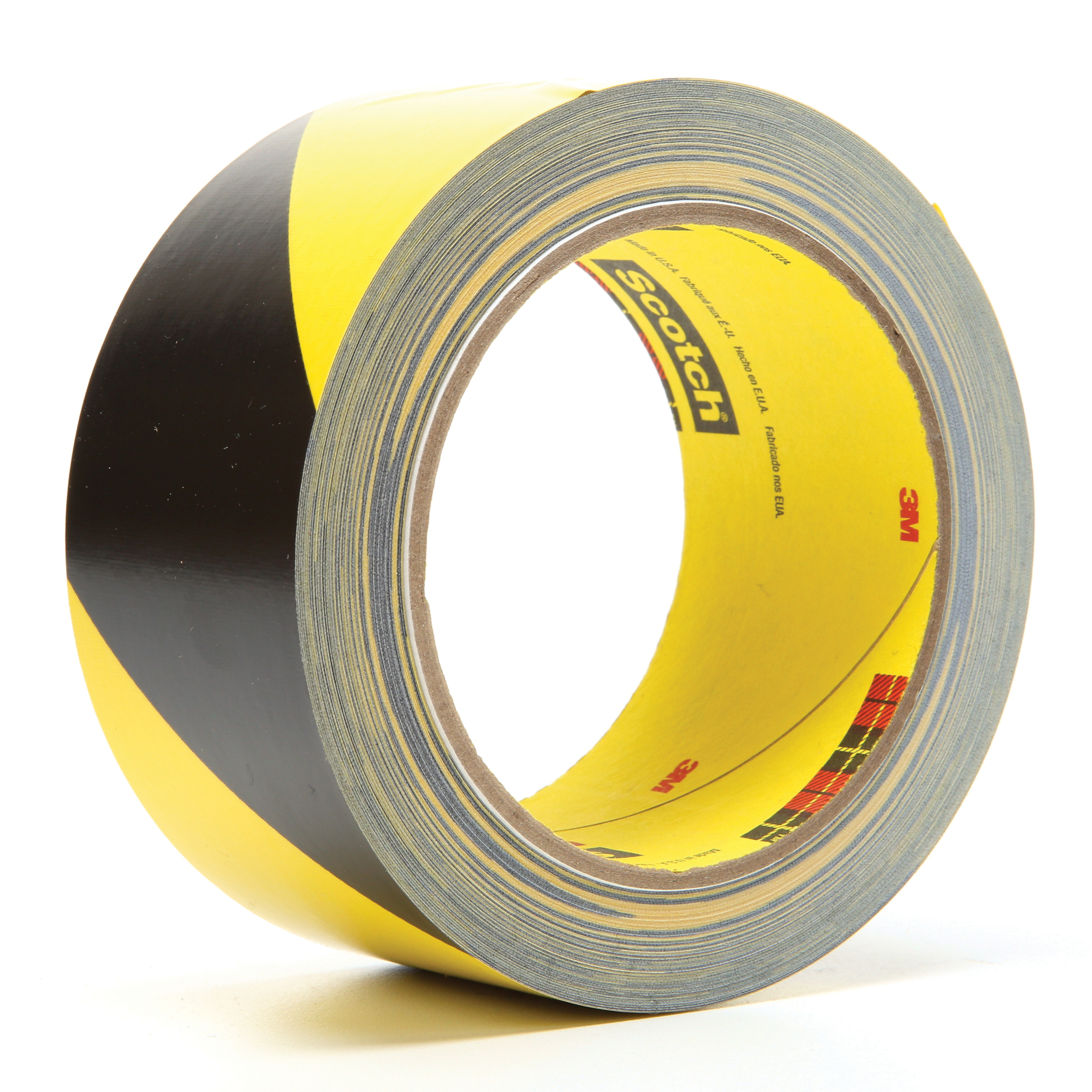 3M™ 021200-04585 Safety Stripe Tape, 36 yd L x 2 in W, Black/Yellow, Rubber Adhesive/Vinyl Backing