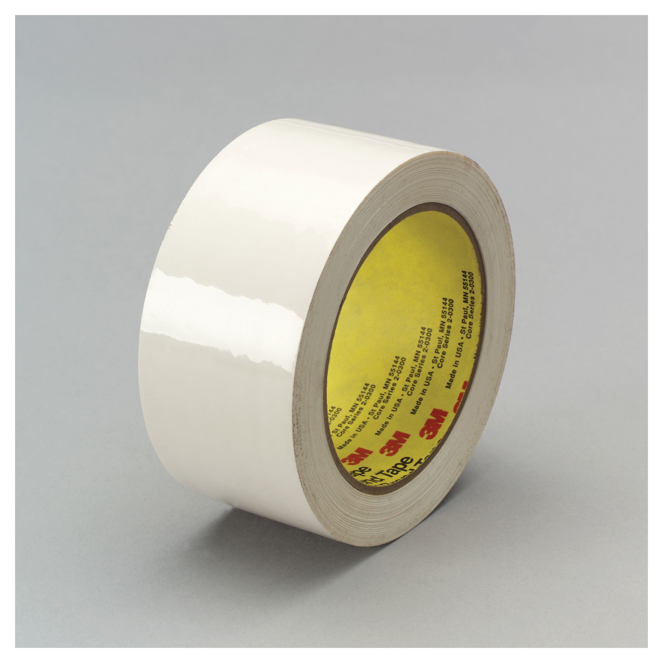 3M™ 021200-05165 483 Chemical Resistant General Purpose UV Resistant Masking Tape, 2 in W x 36 yd Roll L, 5 mil THK, White