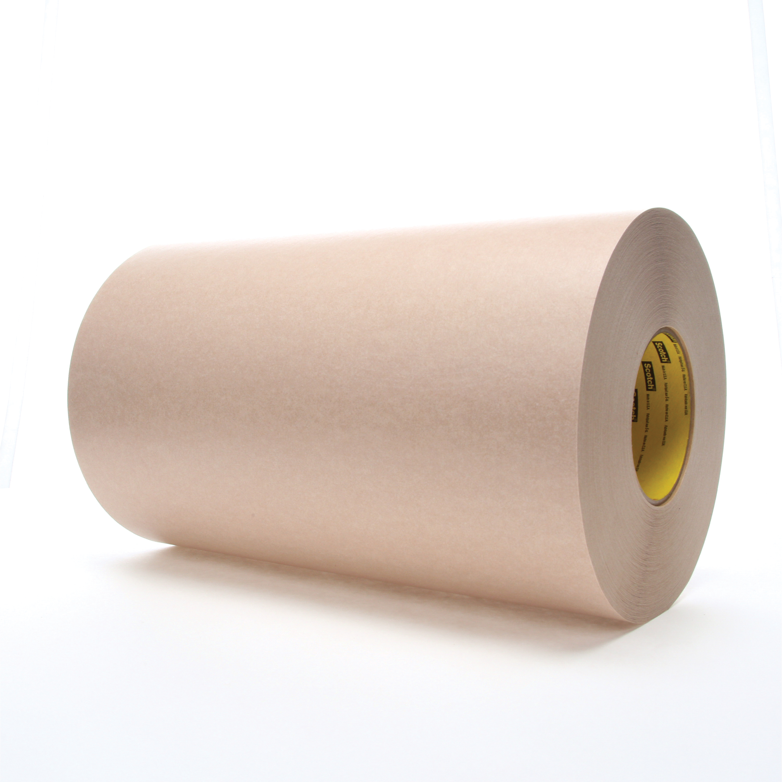 3M™ 021200-05418 Heavy Duty Protective Tape, 60 yd L x 12 in W, 16.7 mil THK, Rubber Adhesive, Flat Paper Stock Backing, Tan