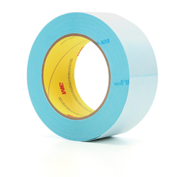 3M™ 051111-92024 Splittable Splicing Tape, 33 m L x 50 mm W, 5 mil THK, Repulpable Adhesive, Repulpable Paper Backing, Blue