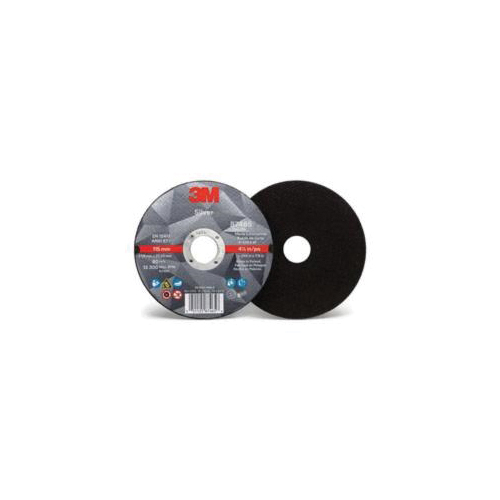 3M™ Silver 051125-87465 Straight Cut-Off Wheel, 4-1/2 in Dia x 0.045 in THK, 7/8 in Center Hole, Ceramic Abrasive