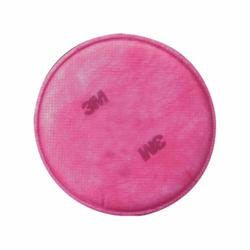 3M™ 051131-07000 Particulate Filter, For Use With 6000, 7000, 7800 and FF-400 Series Respirators, P100, 0.999 Filter Efficiency, Bayonet Connection, Resists: Flame, Water, Oil and Non-Oil Based Particles