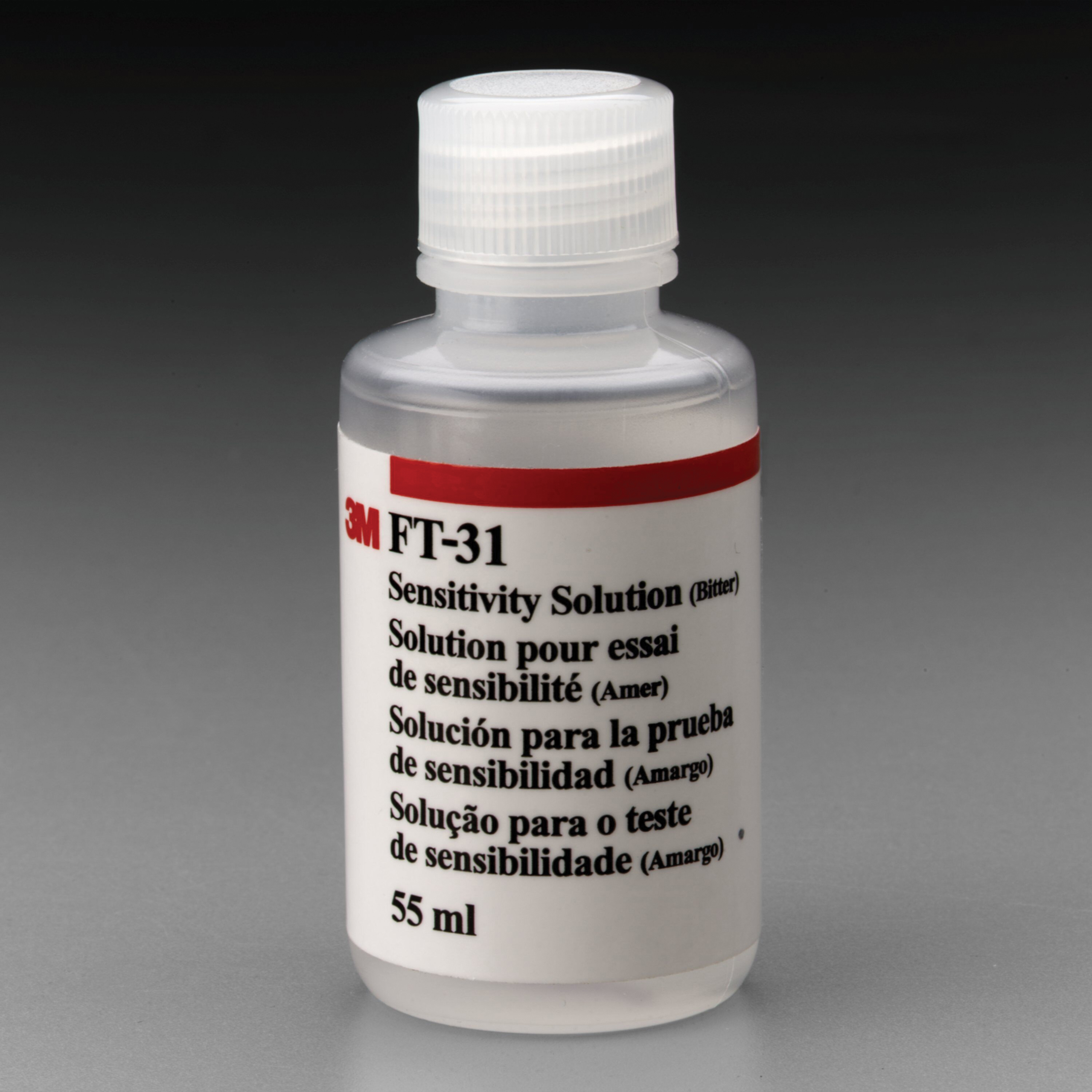 3M™ 051138-54204 Sensitivity Solution, Fit Test Protocol: Bitrex, For Use With FT-30 Qualitative Fit Test Apparatus