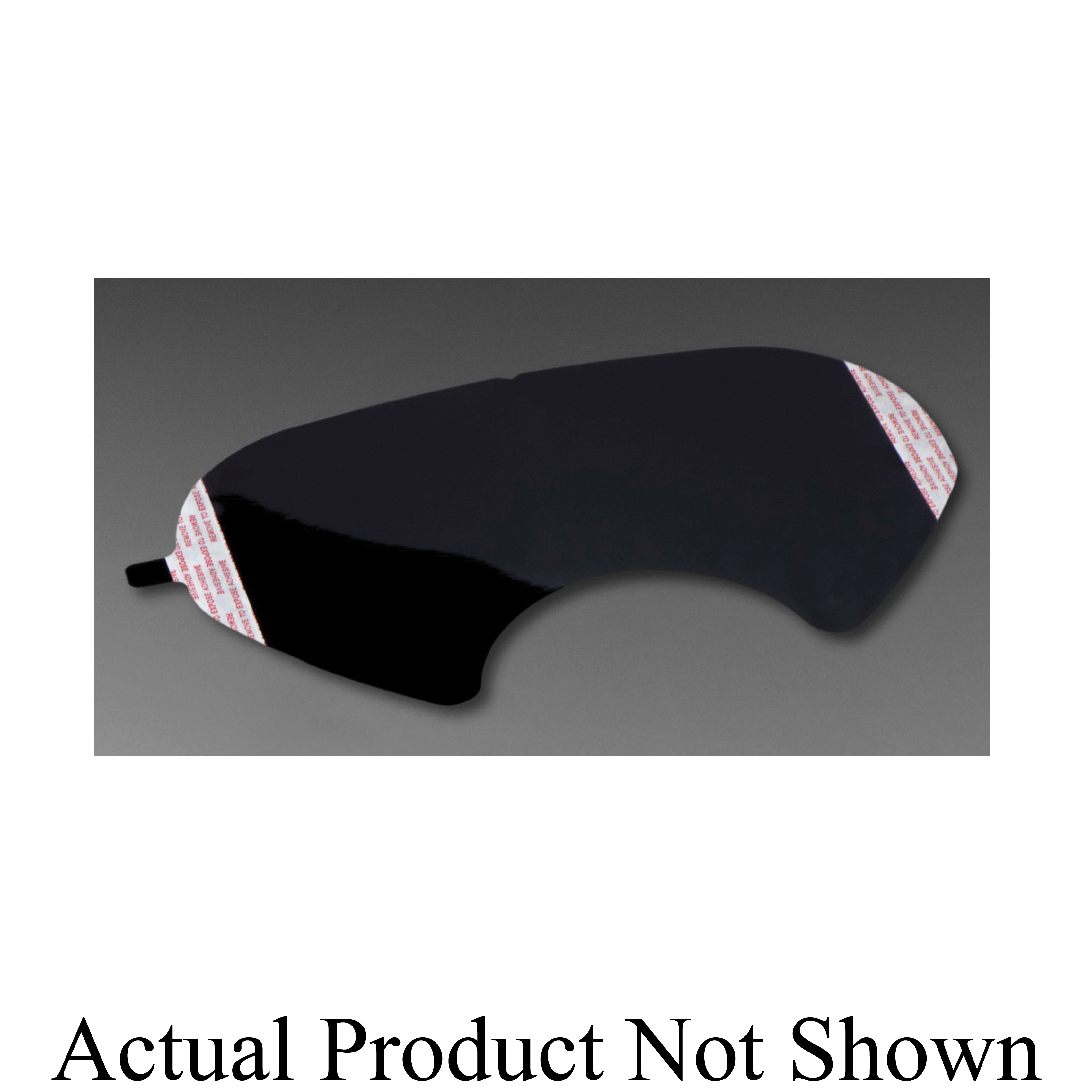 3M™ 051138-66187 Tinted Lens Cover, For Use With Full Facepiece 6000 Series Respirators, Black, Specifications Met: OSHA 29 CFR 1910.132