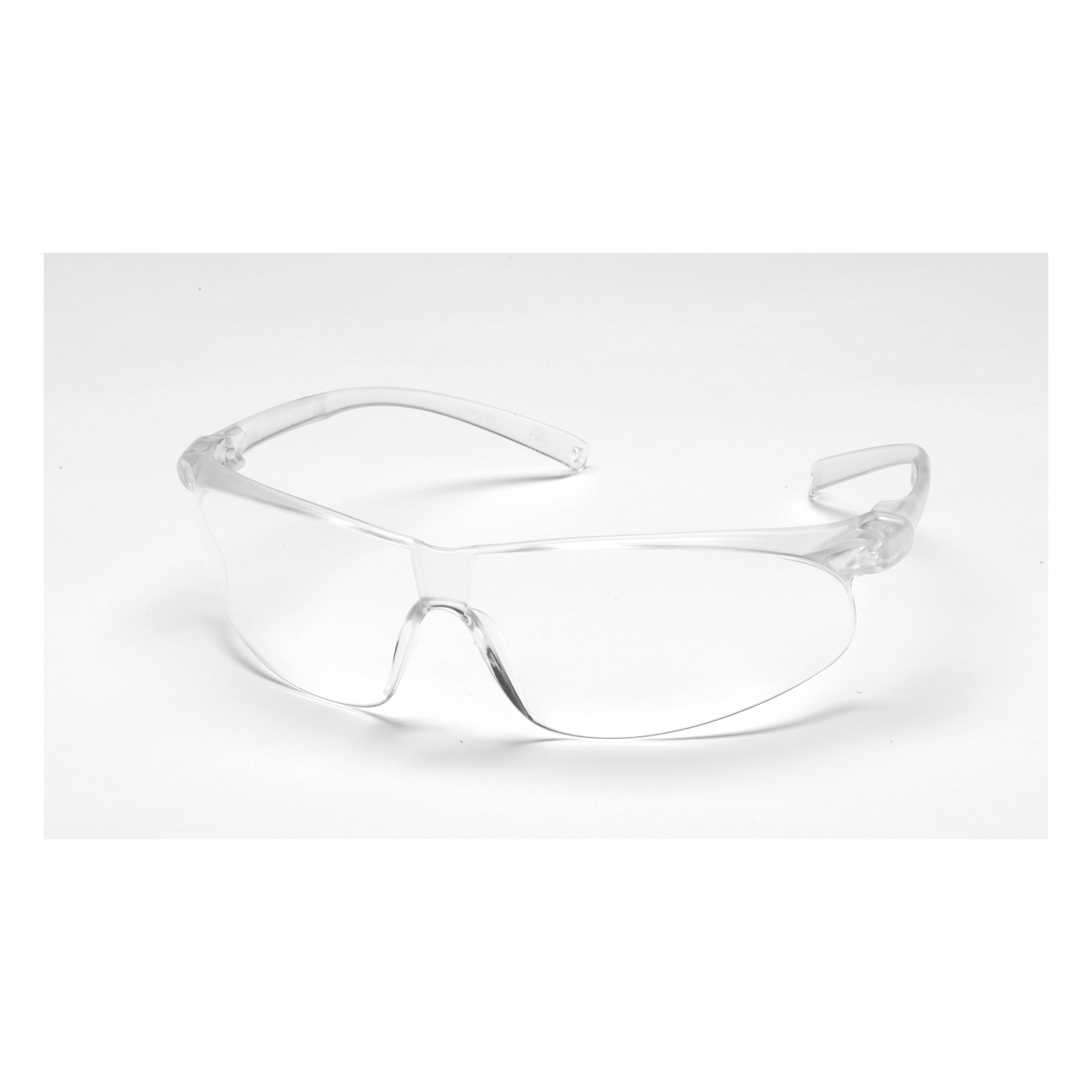 3M™ Virtua™ 078371-62055 11385-00000-20 Economy Lightweight Safety Glasses, Anti-Scratch Clear Lens, Frameless Clear Plastic Frame, Polycarbonate Lens, Specifications Met: ANSI Z87.1-2015, CSA Z94.3