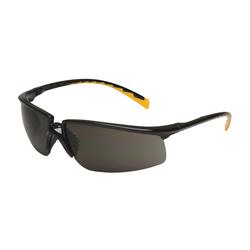 3M™ Privo™ 078371-62088 12262-00000-20 Value Range Protective Eyewear, Anti-Fog Gray Lens, Half Framed Black Plastic Frame, Polycarbonate Lens, Specifications Met: ANSI Z87.1-2015, CSA Z94.3-2007