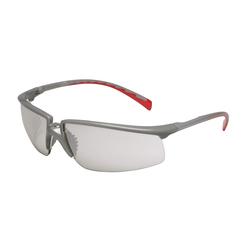 3M™ Privo™ 078371-62094 12268-00000-20 Value Range Protective Eyewear, Anti-Fog Indoor/Outdoor Mirror Lens, Half Framed Silver Plastic Frame, Polycarbonate Lens, Specifications Met: ANSI Z87.1-2003, CSA Z94.3-2007