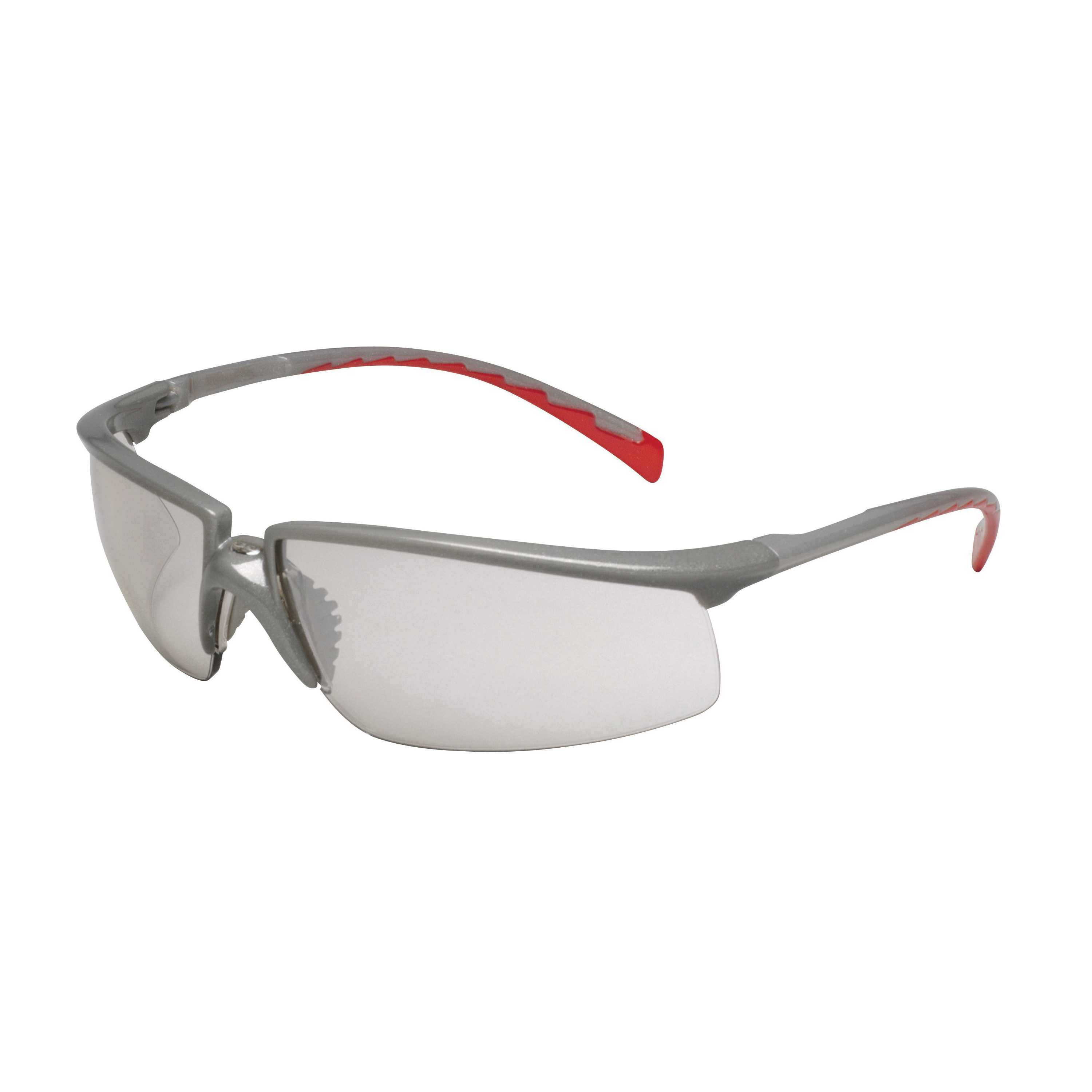3M™ Privo™ 078371-62094 12268-00000-20 Value Range Protective Eyewear, Anti-Fog Indoor/Outdoor Mirror Lens, Half Framed Silver Plastic Frame, Polycarbonate Lens, Specifications Met: ANSI Z87.1-2003, CSA Z94.3-2007