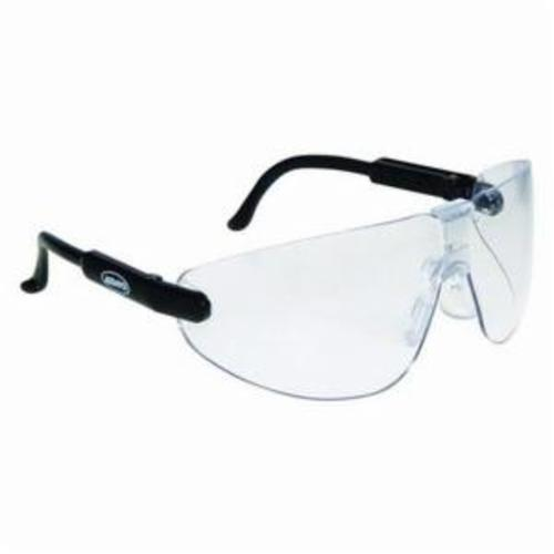 3M™ Lexa™ Fighter 078371-62221 Protective Glasses, DX™ Anti-Fog Clear Lens, Frameless Black Plastic Frame, Polycarbonate Lens, Specifications Met: ANSI Z87.1, CSA Z94.3