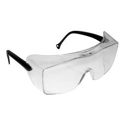 3M™ OX™ 078371-62224 12159-00000-20 Lightweight Safety Glasses, DX™ Anti-Fog Clear Lens, Frameless Black Plastic Frame, Polycarbonate Lens, Specifications Met: ANSI Z87.1-2015, CSA Z94.3