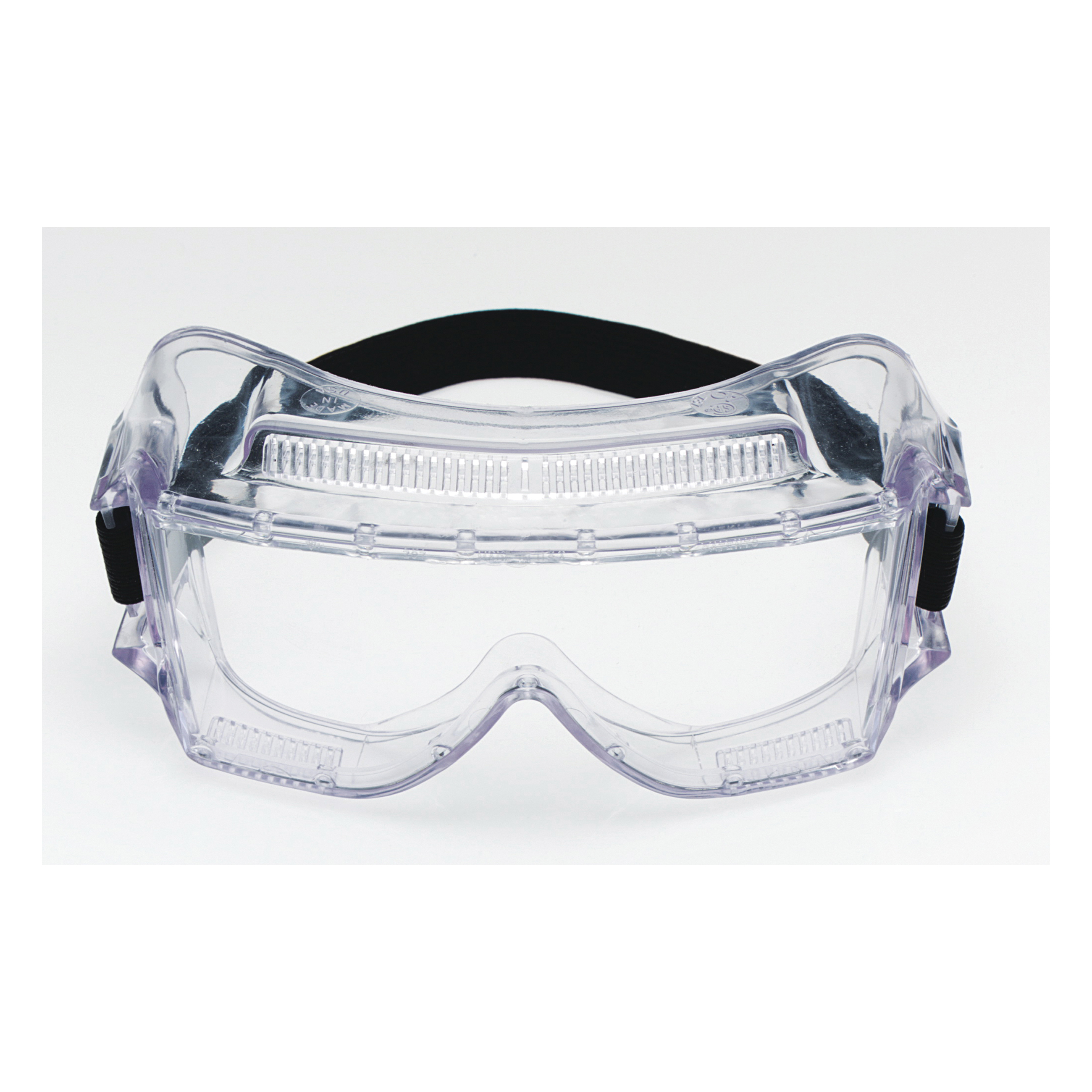 3M™ Centurion™ 078371-62388 40301-00000-10 Standard Value Safety Goggles, Anti-Fog/Impact Resistant/UV-Protective Clear Polycarbonate Lens, 99.9% % UV Protection, Elastic Strap, Specifications Met: ANSI Z87.1-2003, CSA Z94.3-2007