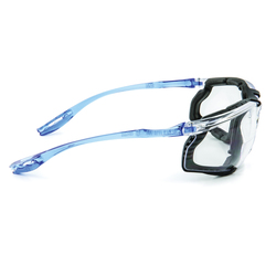 3M™ Aearo Virtua™ CCS 078371-66270 VC215AF Premium Reader Protective Eyewear, 2 Diopter, Clear Lens, Blue Plastic Frame, Polycarbonate Lens, 99.9% UVA/UVB UV Protection, Specifications Met: ANSI Z87.1-2015, CSA Z94.3-2007