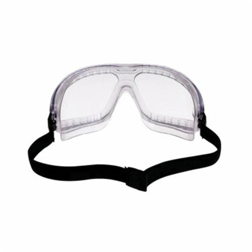 3M™ Aearo Lexa™ Splash GoggleGear™ 078371-62337 16645-00000-10 Lightweight Safety Goggles, Anti-Fog/Anti-Scratch Clear Polycarbonate Lens, 99.9% % UV Protection, Elastic Strap, Specifications Met: ANSI Z87.1-2003, CSA Z94.3-2007