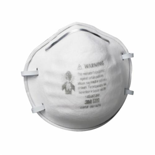3M™ 051131-07023 Standard Particulate Respirator, Resists: Non-Oil Based Particles