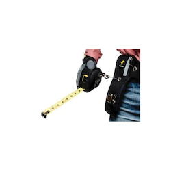 3M DBI-SALA Fall Protection 1500100 Python Safety® Combo Tape Measure Holster With Retractor and Sleeve, 2 lb, Neoprene, Black