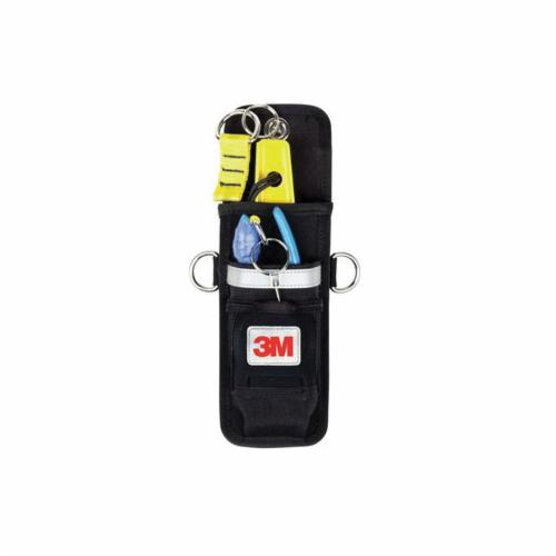 3M DBI-SALA Fall Protection 1500107 Dual Tool Holster With (2) Retractors, 5 lb, 2 Pockets, Ballistic Denier Fabric, Black
