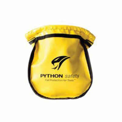 3M DBI-SALA Fall Protection 1500122 Python Safety® Small Parts Pouch, Vinyl, Yellow, For Use With Belt or Harness Attachment