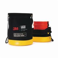 3M DBI-SALA Fall Protection Python Safety™ 1500135 Python Safety® Safe Bucket, 100 lb Load Capacity, Duck Canvas, Black/Yellow, For Use With Standard Plastic 5 gal Bucket