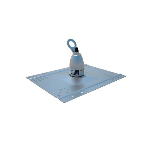 3M DBI-SALA Fall Protection 2100133 Universal Roof Top Anchor, Sherardized Steel, Silver
