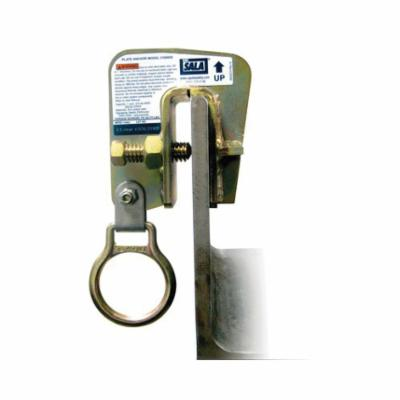 3M DBI-SALA Fall Protection 2104550 Steel Plate Anchor, Steel, Yellow Zinc