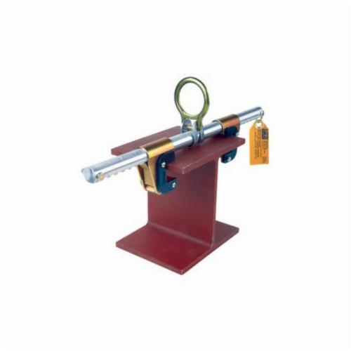 3M DBI-SALA Fall Protection Glyder™ 2104700 Sliding Beam Anchor, 19-1/3 in L x 4-1/4 in W x 3 in D, Steel/Aluminum, Silver