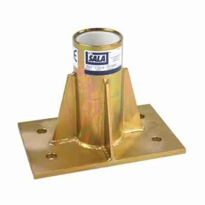 3M DBI-SALA Fall Protection 8512831 Advanced™ Center Mount Sleeve Davit Base, 450 lb Load, For Use With Advanced™ Offset Davit Mast