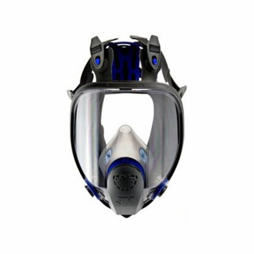 3M™ 051135-89424 Reusable Ultimate FX Full Face Respirator With Cool Flow™ Valve, L, 6-Point Suspension, Bayonet Connection