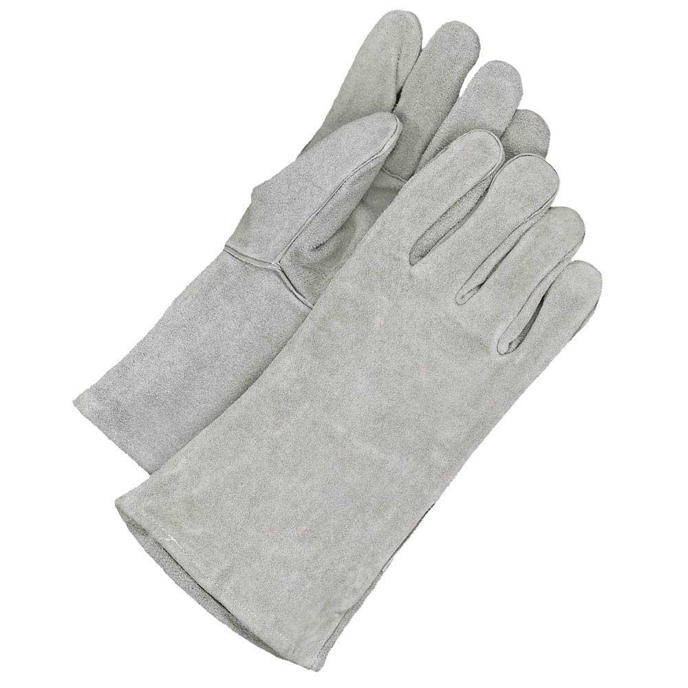 Welding Glove Split Leather Pearl Grey