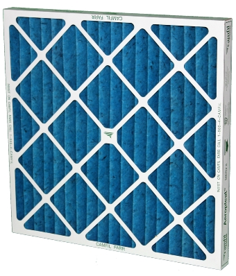 Camfil 119303-001 Aeropleat III MERV 8 Pleated Filter, 20 x 16 x 1 inch Overall