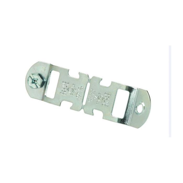 B-Line BPC-12 2-Piece Break Apart Conduit Clamp, 3/4 in Conduit, 200 lb Load, Steel