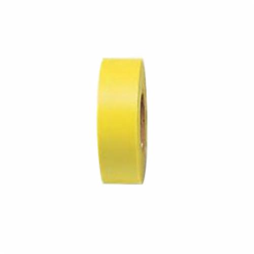 Brady® 58348 Non-Adhesive Flagging Tape, Fluorescent Lime, 1.188 in W x 150 ft L