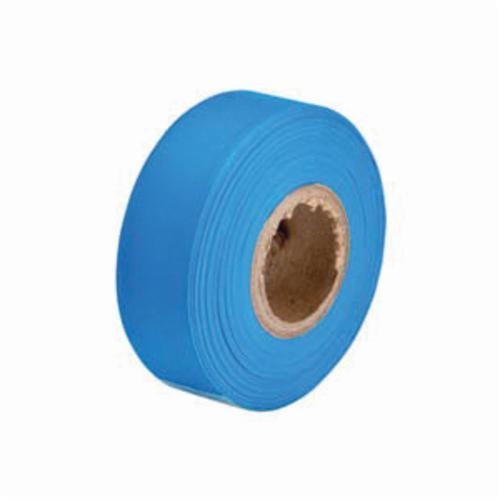 Brady® 58351 Non-Adhesive Flagging Tape, Fluorescent Blue, 1.188 in W x 150 ft L
