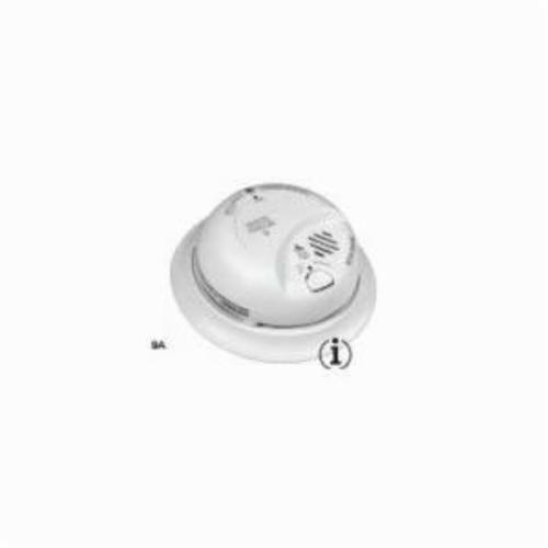 BRK® SC9120BA Combination Smoke and CO Alarm, 10 ft Detection, Ionization Detection, 120 VAC, 85 dB, Specifications Met: UL 217, 2034