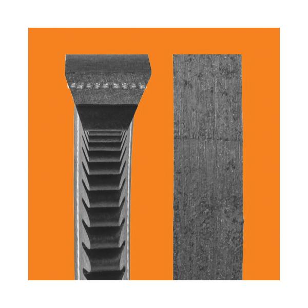 Carlisle® Gold-Ribbon® Cog-Belt® AX36 Heavy Duty V-Belt, 1/2 in W Top, 38.3 in L Outside, 11/32 in THK, AX Section, EPDM