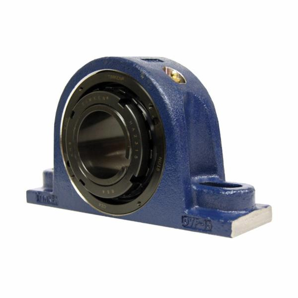 Carlisle® DVP17K215SB TA/DV Series Solid Block Type E Spherical Roller Bearing Housed Unit, 2-15/16 in Dia Bore, 7.88 to 9.62 in L Bolt Center-to-Center, 3-1/4 in Base to Bore Centerline, 11.63 in OAL x 6.82 in OAH