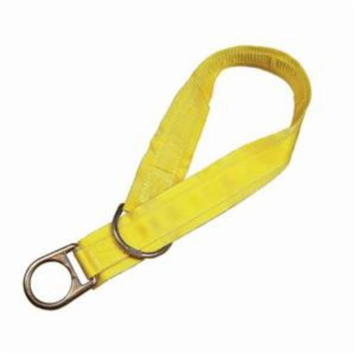 3M DBI-SALA Fall Protection 1003000 Temporary Cross Arm Strap, 3 ft L x 3 in W, Polyester/Steel, Yellow