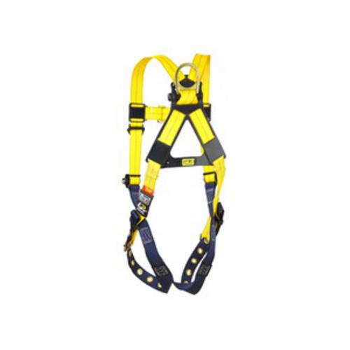 3M DBI-SALA Fall Protection 1101253C Delta™ Multi-Purpose Harness, 2XL, 420 lb Load, Repel™ Polyester Strap, Tongue Leg Strap Buckle, Yellow