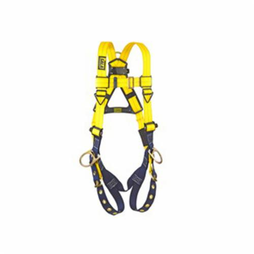 3M DBI-SALA Fall Protection 1102008C Delta™ Multi-Purpose Unisex Harness, Universal, 420 lb Load, Repel™ Polyester Strap, Tongue Leg Strap Buckle, Steel/Aluminum/Stainless Steel Torso Buckle/Stainless Steel Grommet Leg Buckle/Steel Chest Buckle Hardware