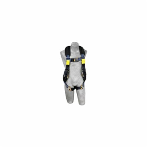 3M DBI-SALA Fall Protection 1110841C ExoFit™ XP Arc Flash Dorsal Rescue Harness, L, 310 lb Load, Kevlar®/Nomex® Strap, Quick-Connect Leg Strap Buckle, Quick-Connect Chest Strap Buckle