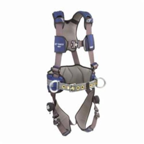 3M DBI-SALA Fall Protection 1113127C ExoFit™ NEX™ Positioning Harness, L, 420 lb Load, Quick-Connect Leg Strap Buckle, Quick-Connect Chest Strap Buckle, Steel/Aluminum Hardware