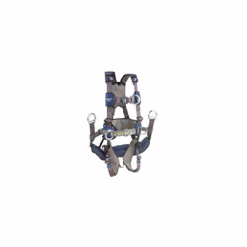 3M DBI-SALA Fall Protection 1113191C ExoFit™ NEX™ Harness, M, 420 lb Load, Quick-Connect Leg Strap Buckle, Quick-Connect Chest Strap Buckle, Steel/Aluminum Hardware