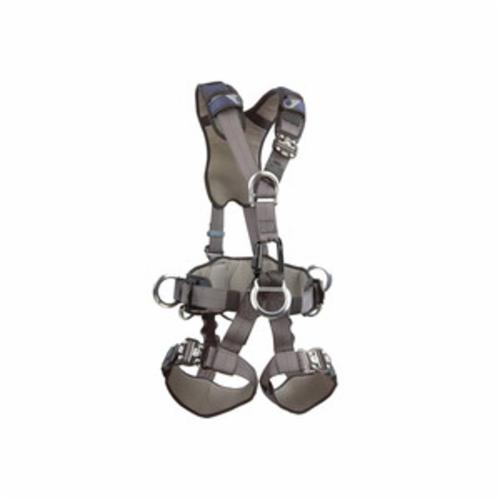 3M DBI-SALA Fall Protection 1113348C ExoFit™ NEX™ Rope Access Rescue Harness, XL, 420 lb Load, Quick-Connect Leg Strap Buckle, Quick-Connect Chest Strap Buckle, Steel/Aluminum Hardware